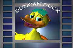 Animated/Live Action Production for Mosaic featuring Duncan Duck.