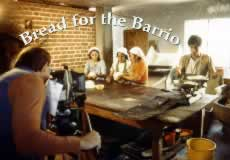 "Ron Chvala filming the opening sequence for the award-winning film ""Bread for the Barrio""."